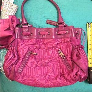 Magenta juicy purse